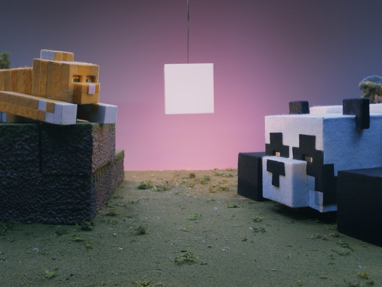 Minecraft Cats and Pandas Thumbnail