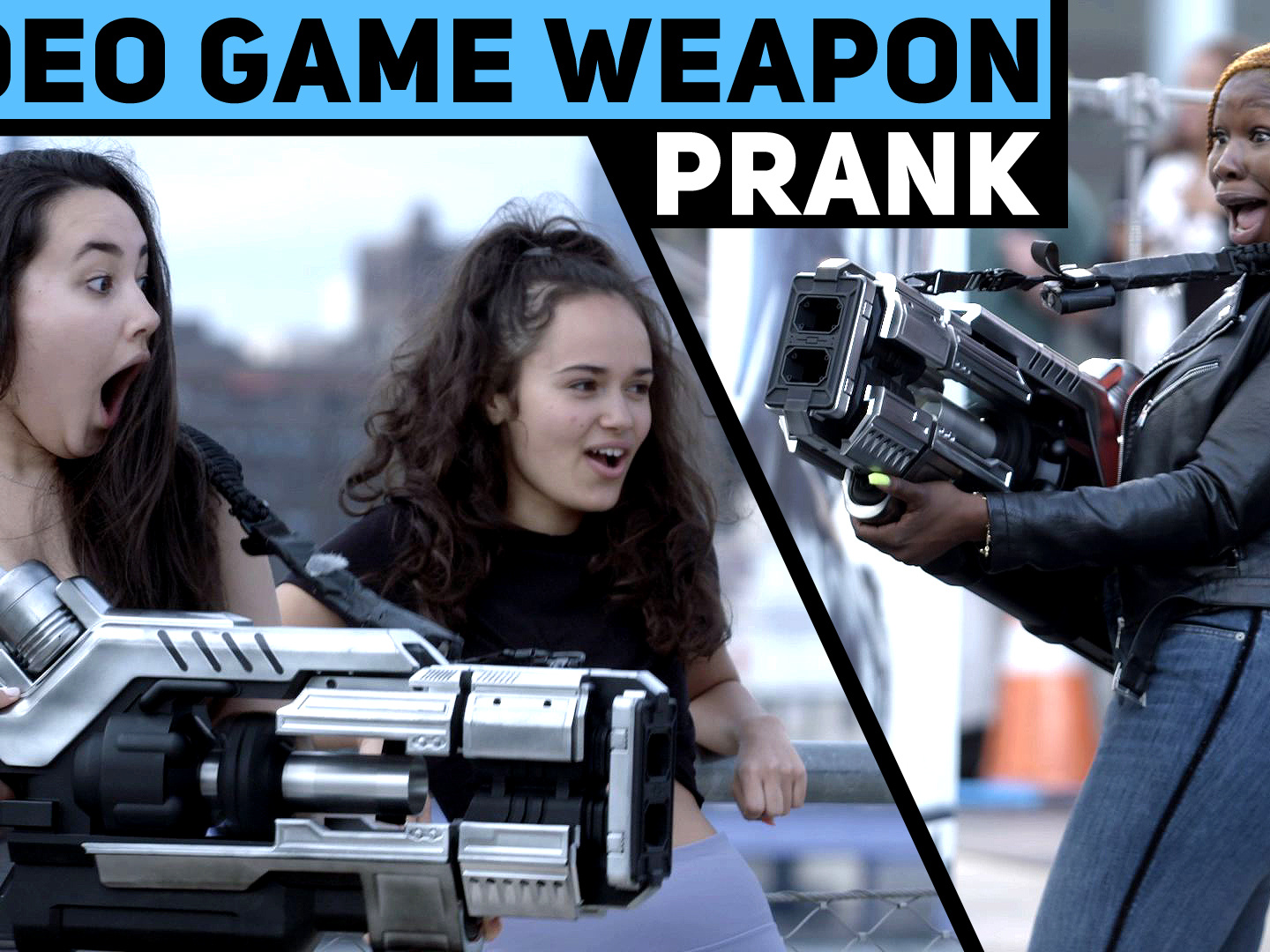 Video Game Weapon Prank Thumbnail