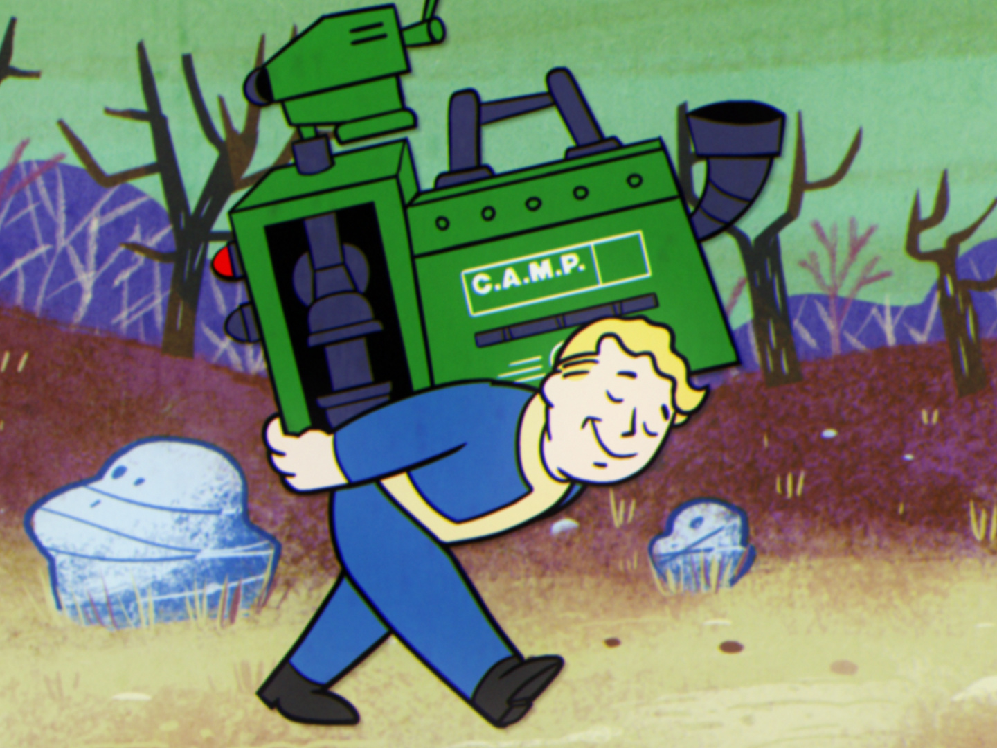 Fallout 76 — A New American Dream: Laying the Cornerstones Thumbnail