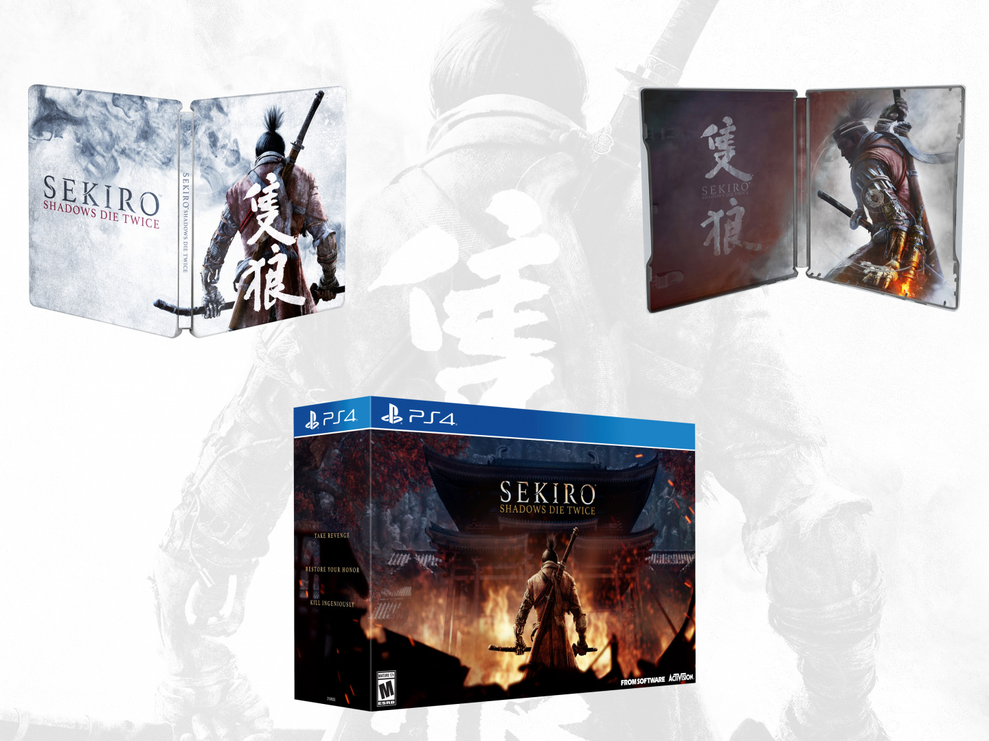 Sekiro: Shadows Die Twice- Packaging Thumbnail