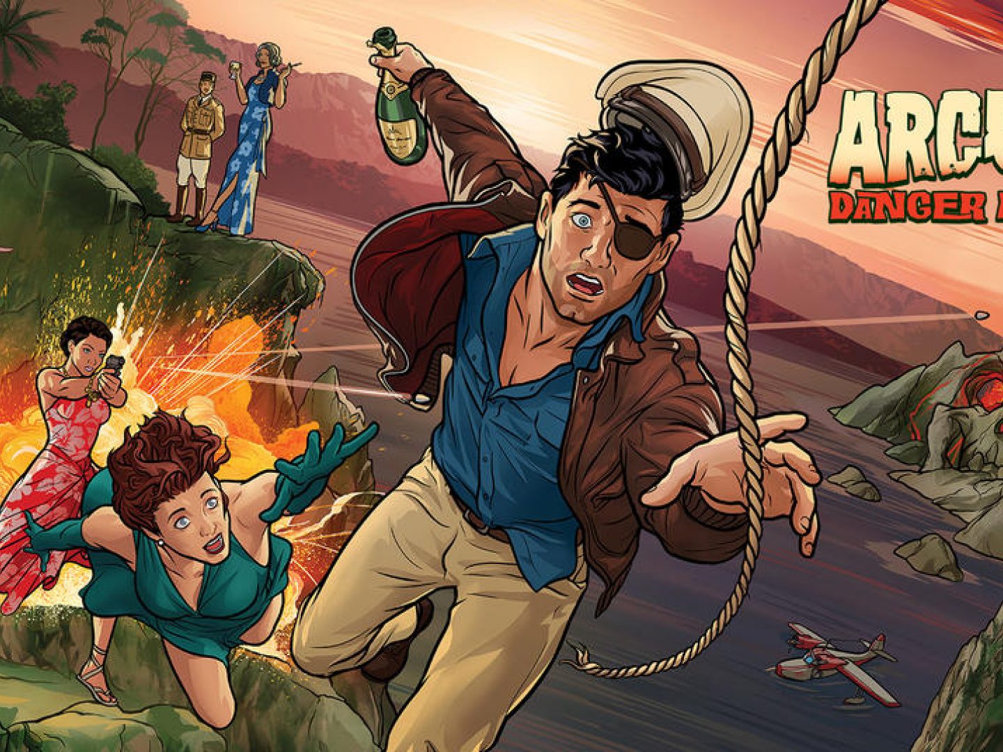 Archer: Danger Island Home Entertainment Trailer Thumbnail