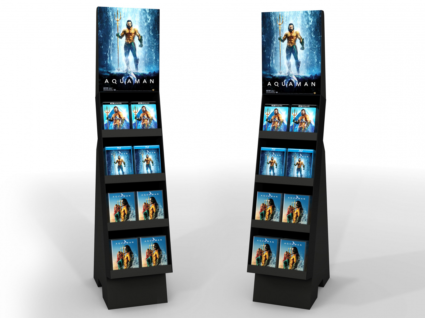 Image for Aquaman Home Entertainment Shoppable Floor Display Non Event