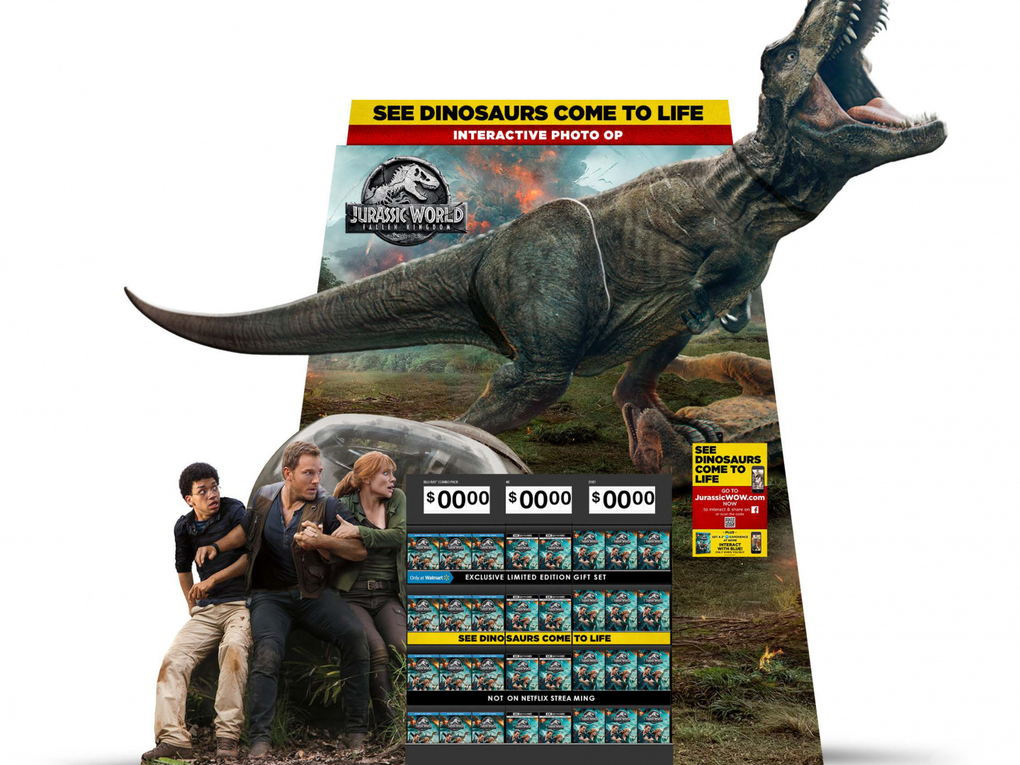 Jurassic World Fallen Kingdom Display  Thumbnail