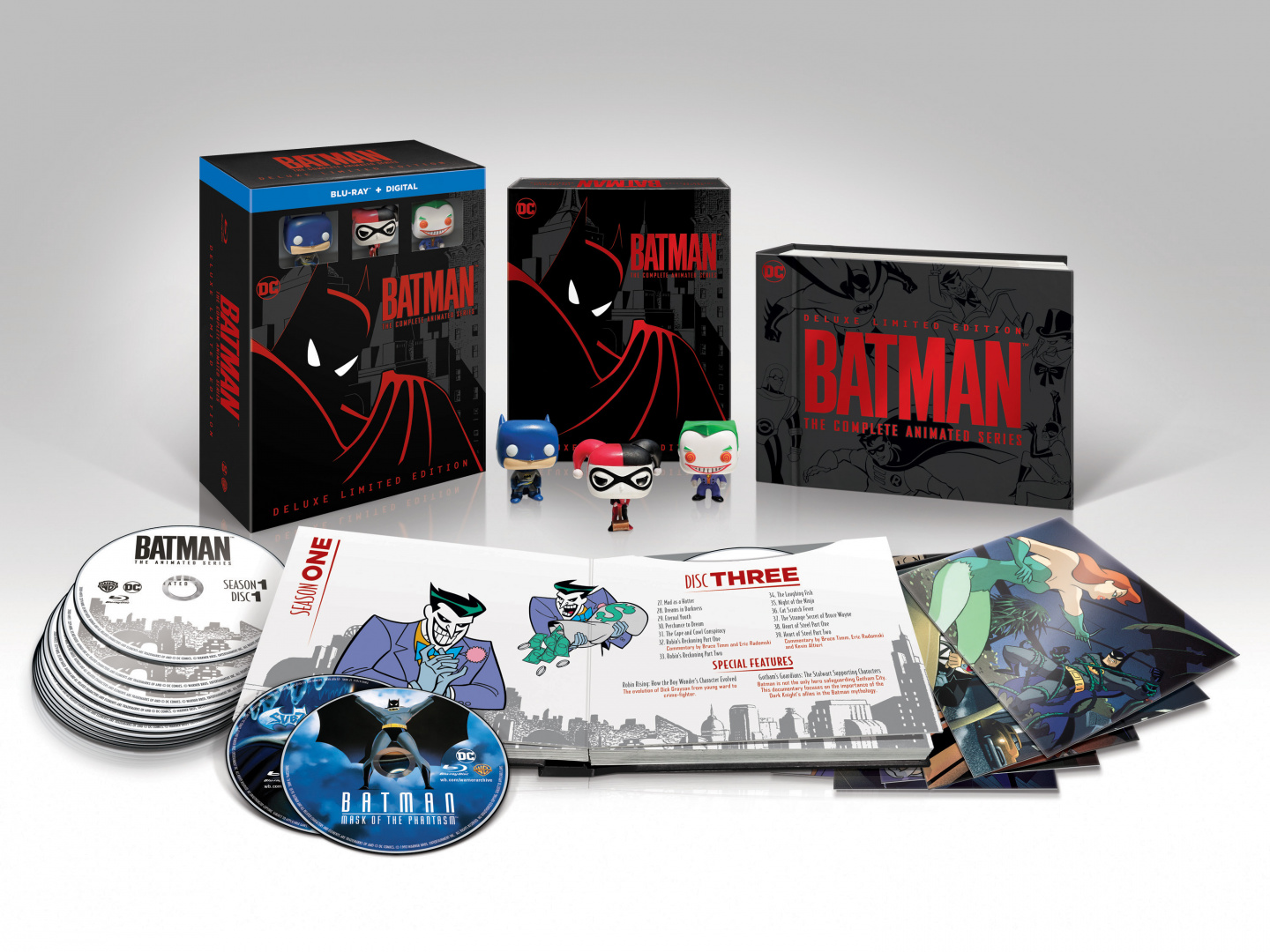 Batman: The Complete Animated Series Deluxe Edition Thumbnail