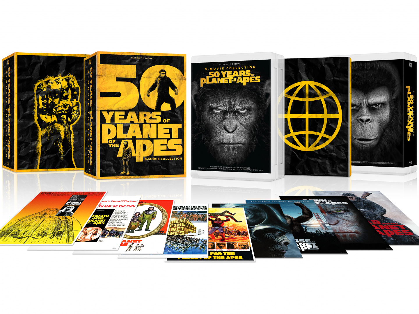 Planet of the Apes 50th Anniversary Collection Thumbnail