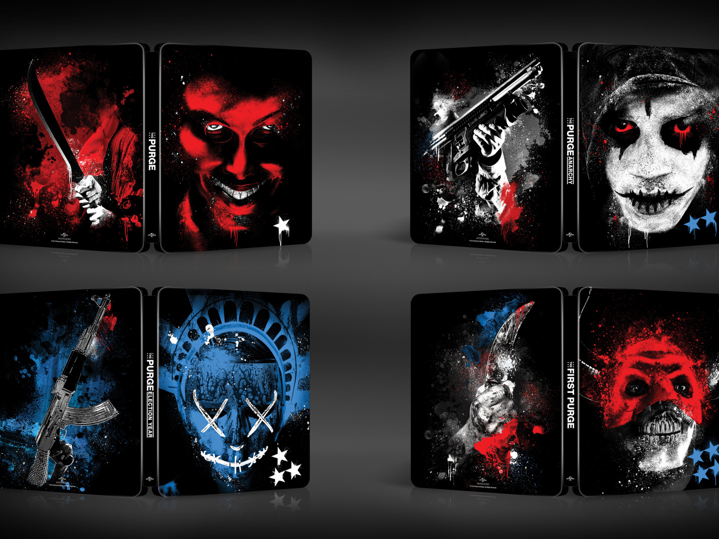 The Purge Franchise Steelbooks  Thumbnail