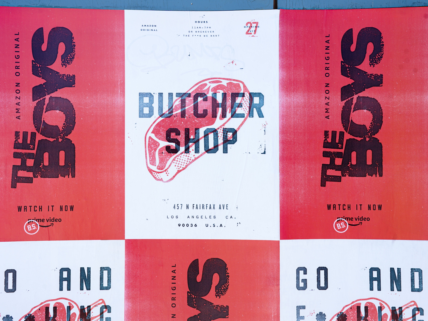 The Boys - Butcher Shop  Thumbnail