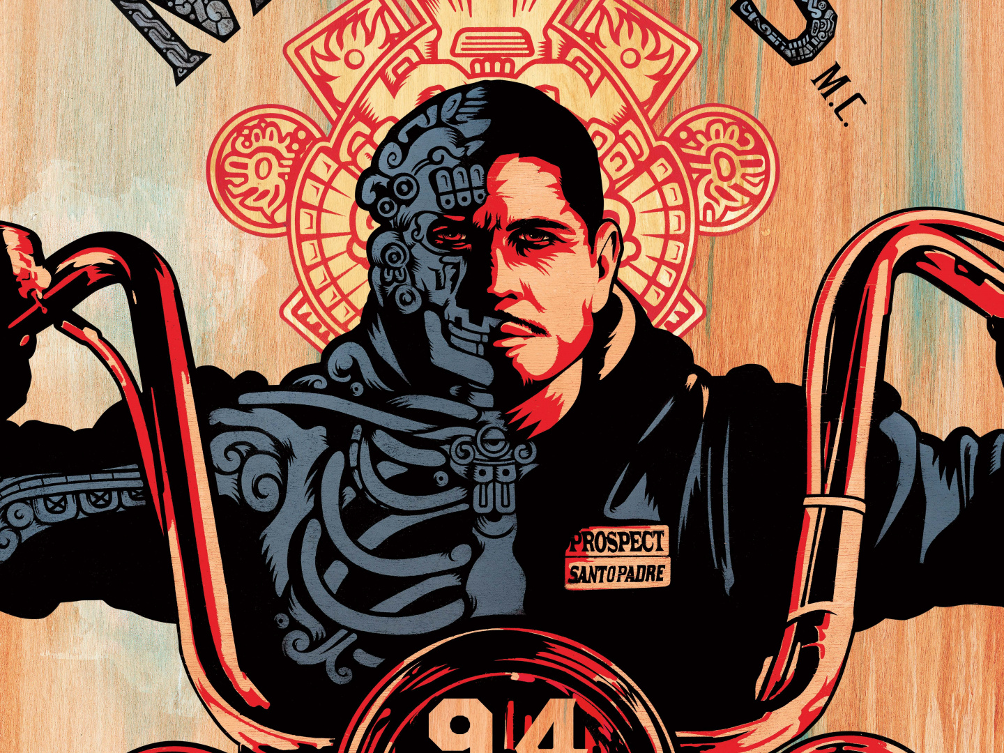 Image for Mayans M.C. - Key Art 1