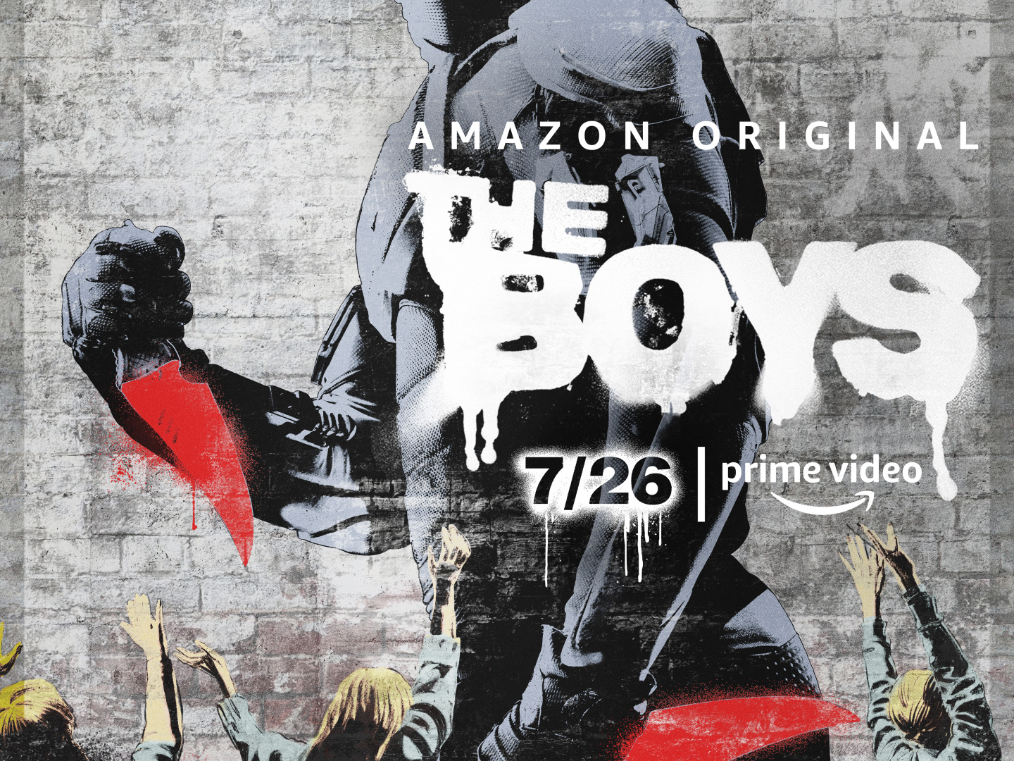 The Boys Key Art - Black Noir Thumbnail