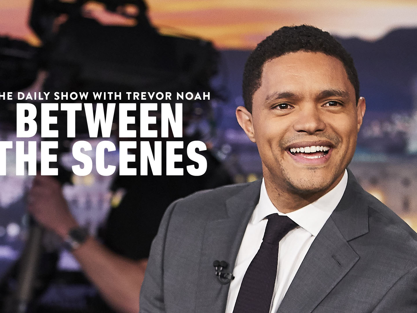 The Daily Show with Trevor Noah - Between the Scenes Thumbnail
