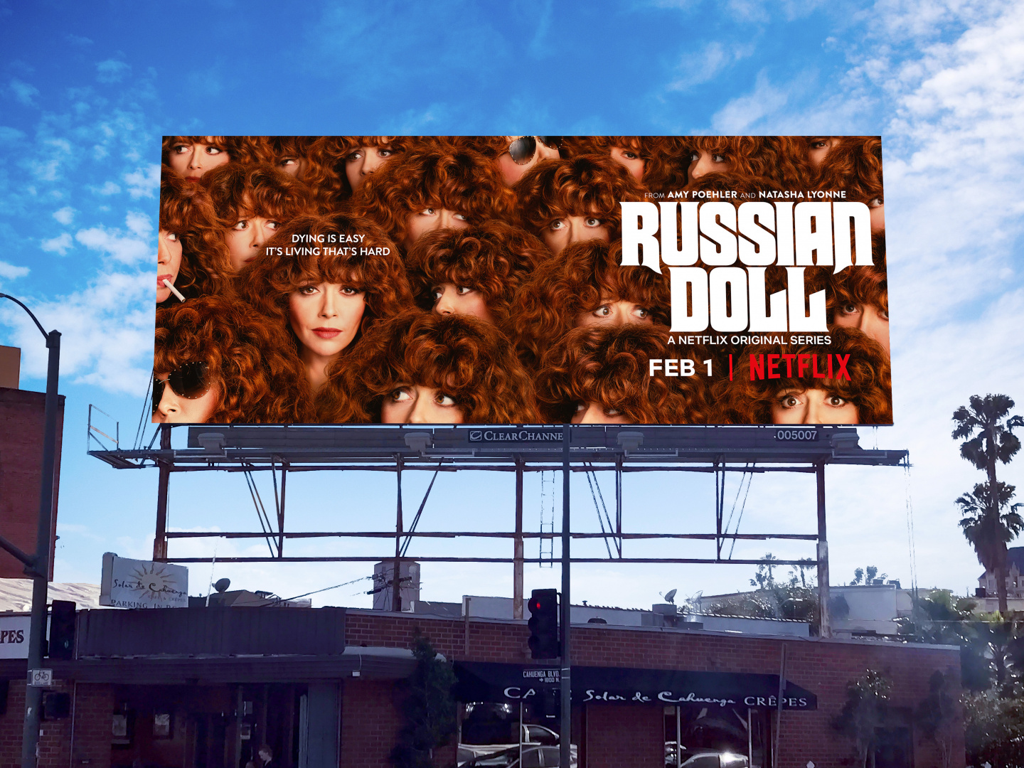 Russian Doll OOH Key Art Thumbnail