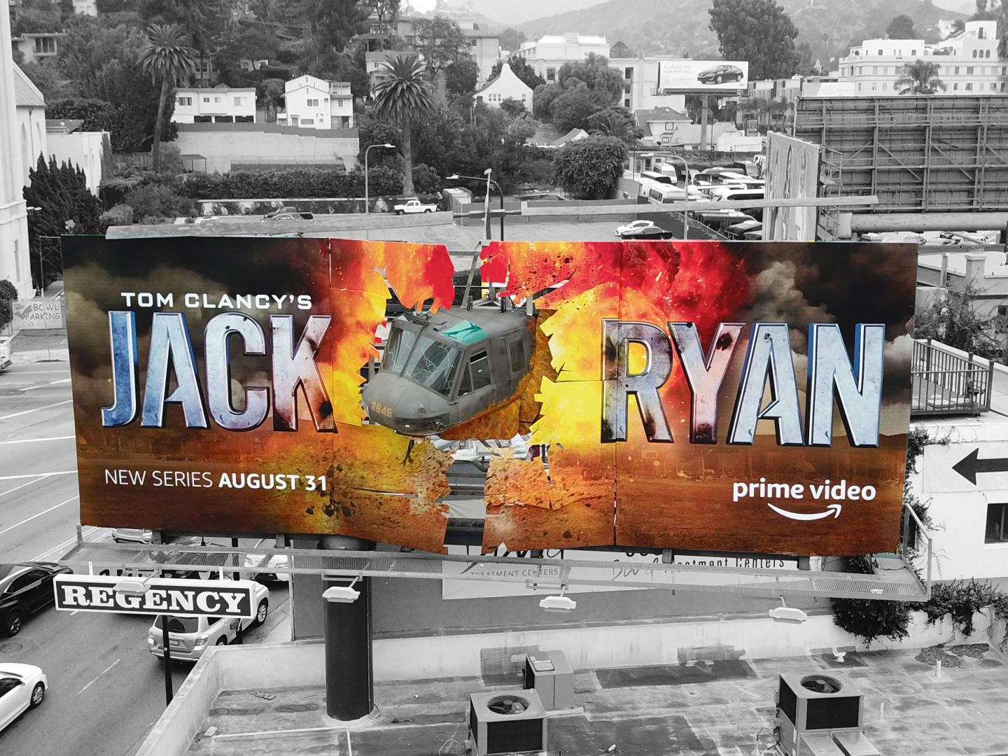 Jack Ryan Season 1 – High Impact OOH Thumbnail