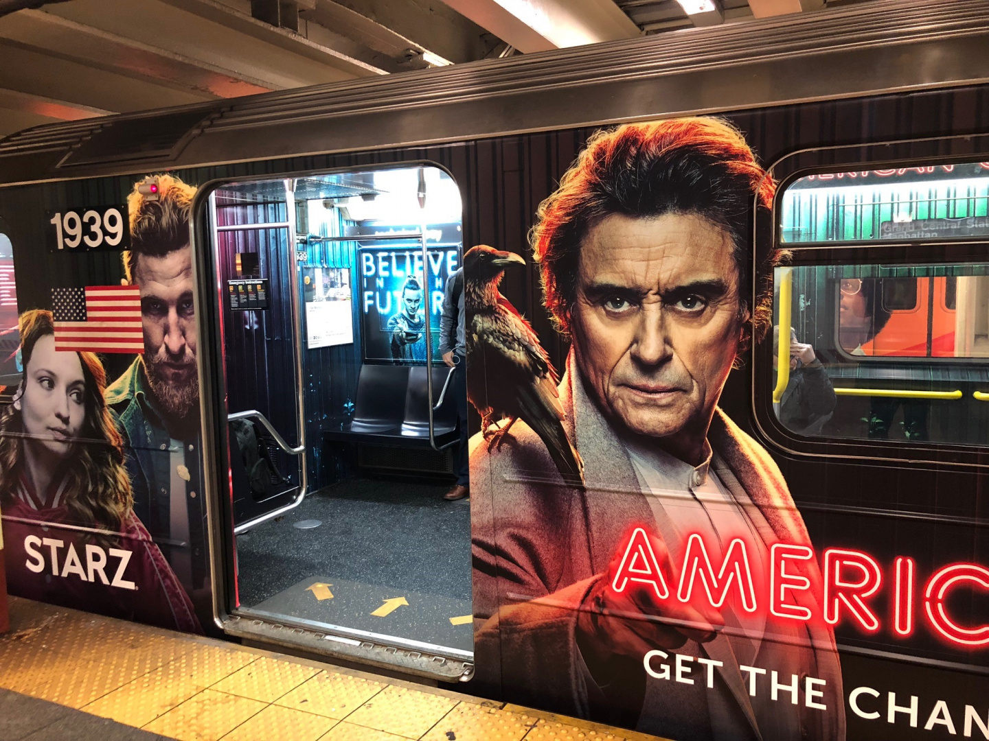 Image for American Gods S2 OOH (Subway Wrap)