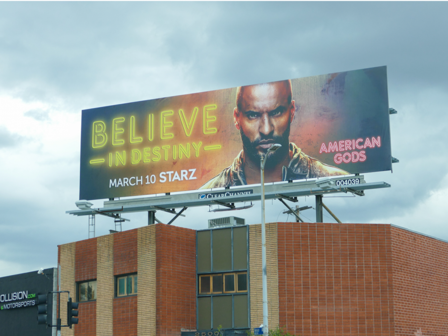 Image for American Gods S2 OOH (Takeover)