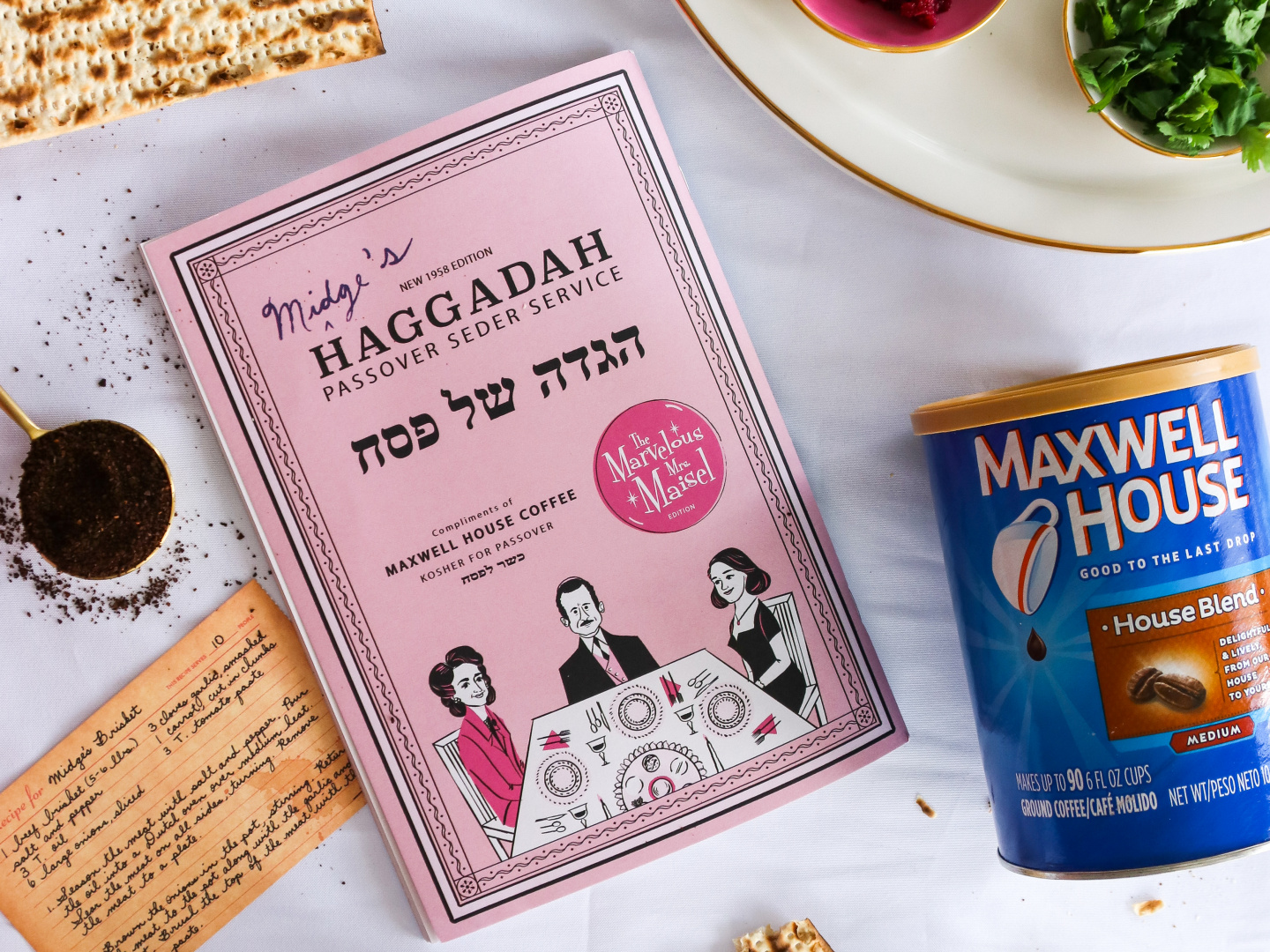 Maxwell House Haggadah: The Marvelous Mrs. Maisel Edition  Thumbnail