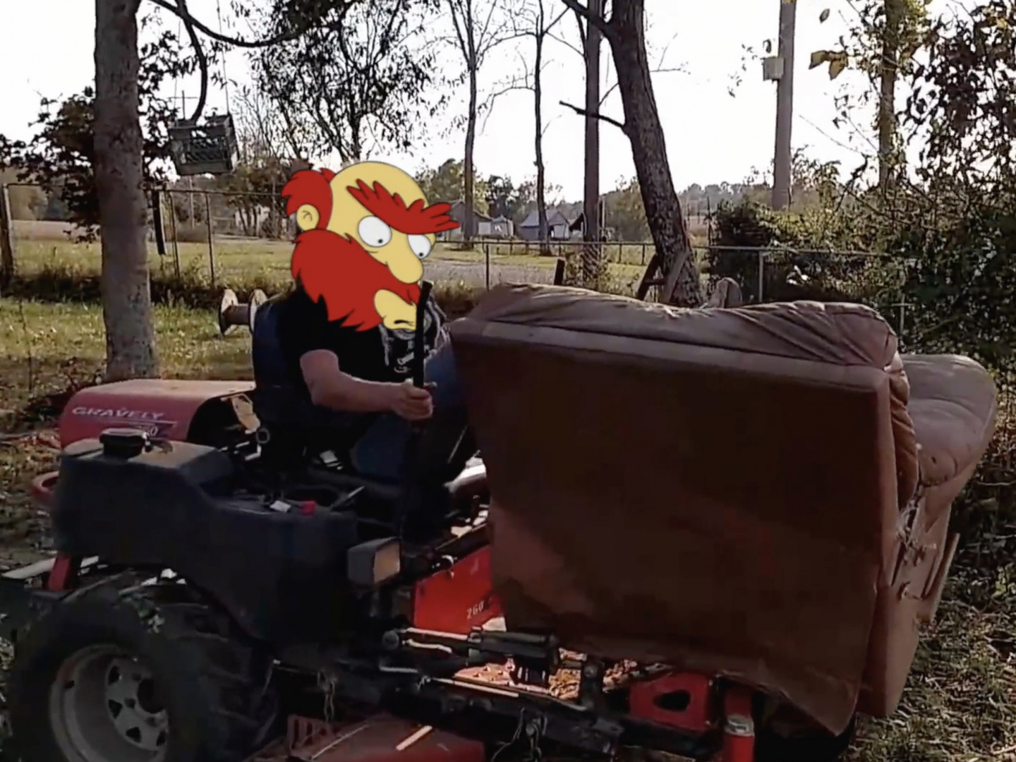 The Simpsons - Tractor Willie Thumbnail