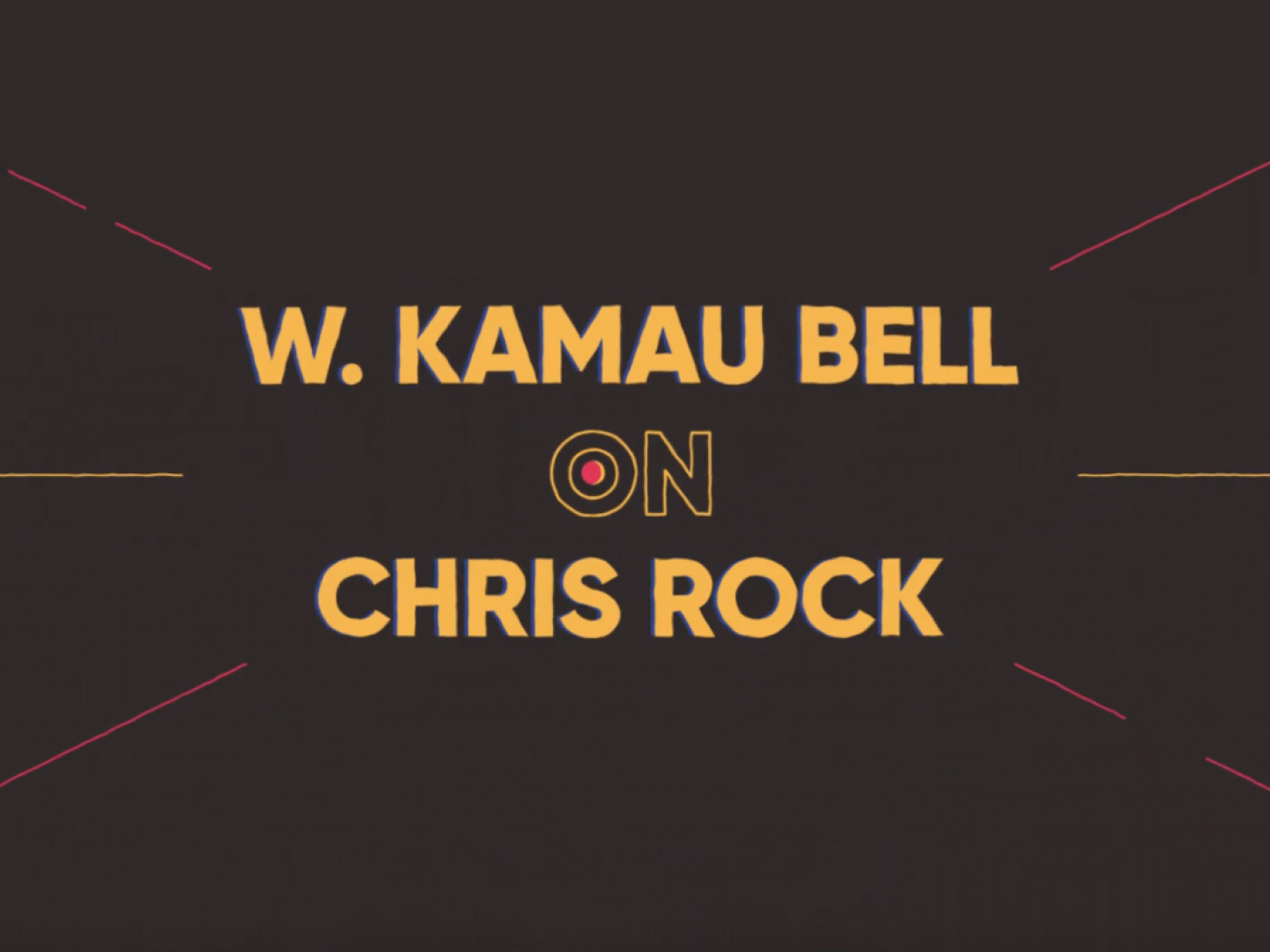 Chris Rock: 1,000 Words with Kamau Bell Thumbnail