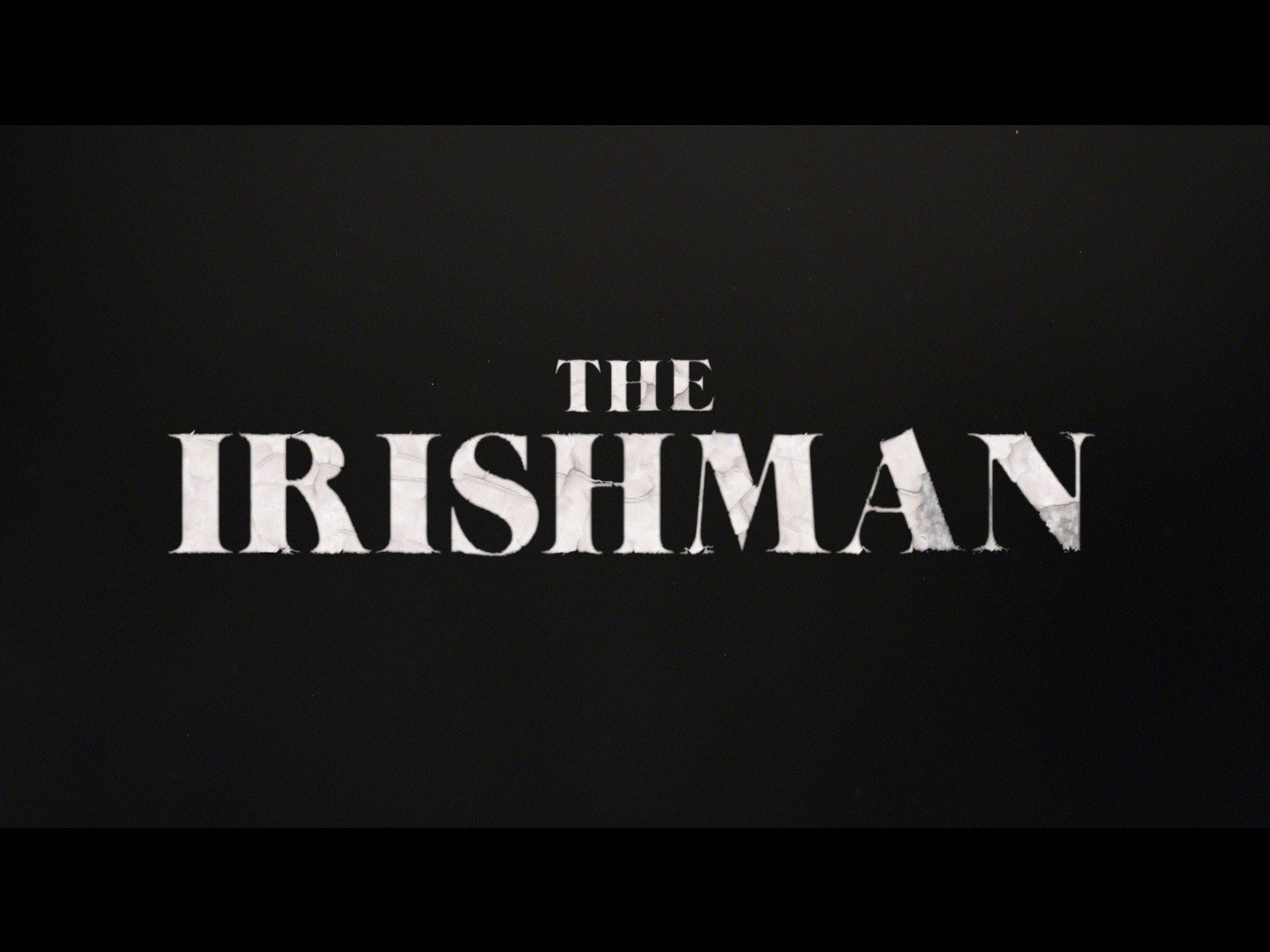 "The Irishman - Teaser ""Shell"