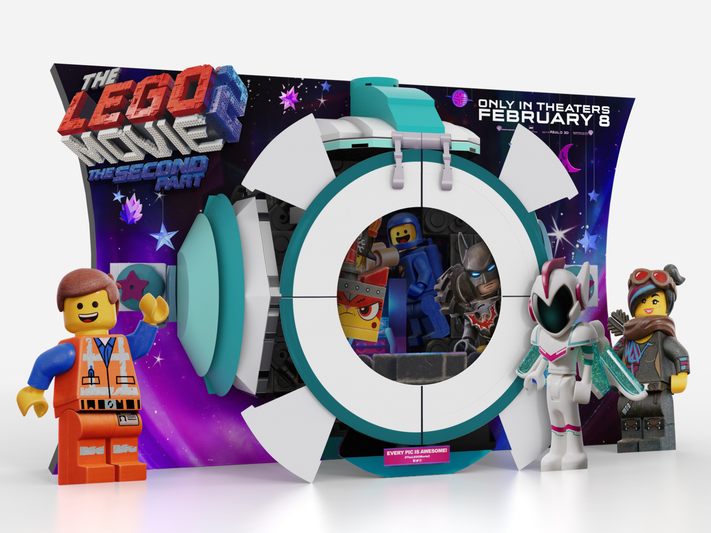 The Lego Movie 2: The Second Part In-Theatre Standee Thumbnail