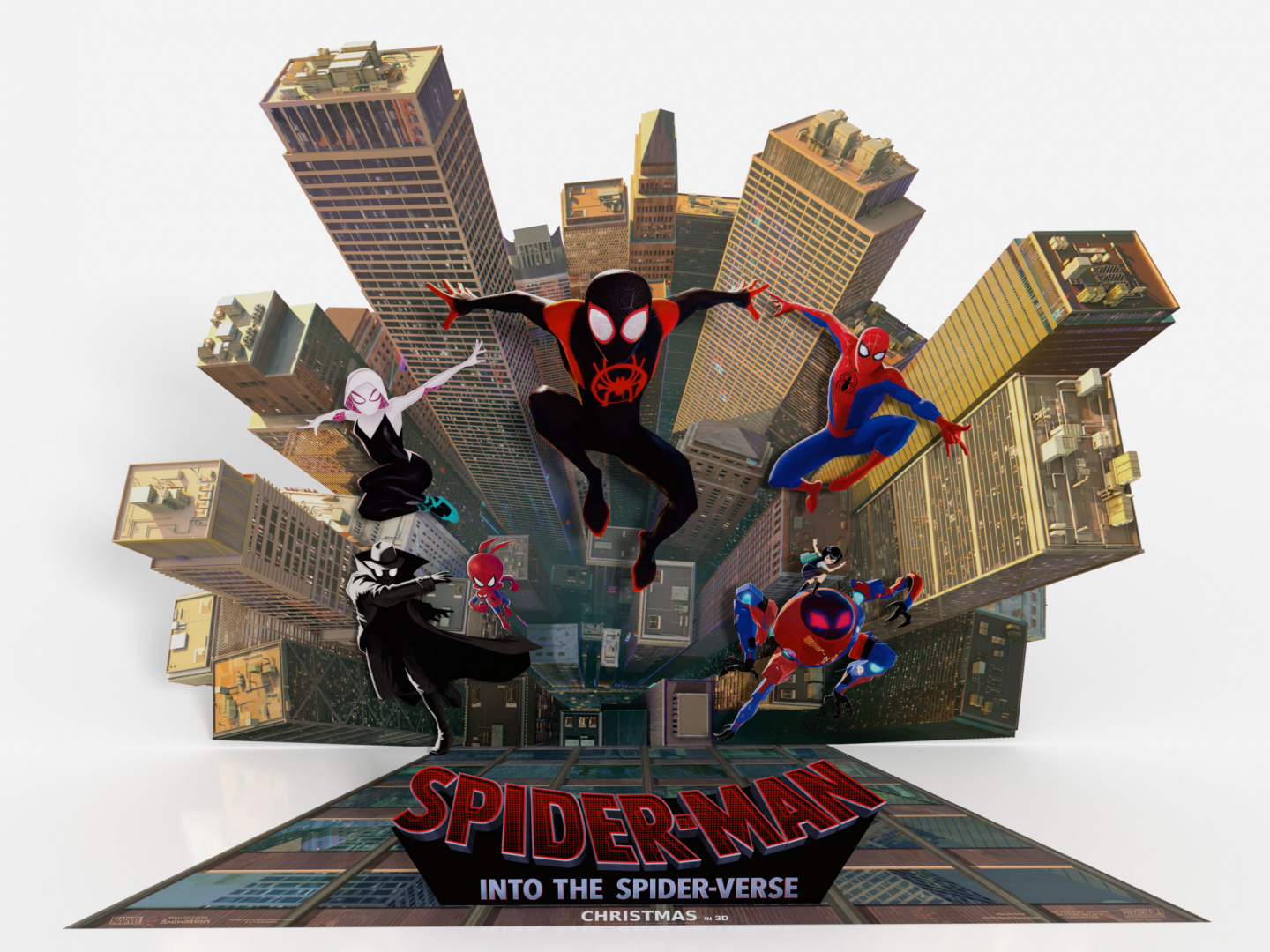Spider-Man: Into the Spider-Verse Standee Thumbnail