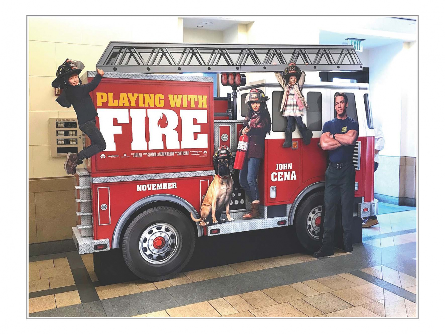 Fire Truck - Spectacular Standee Thumbnail