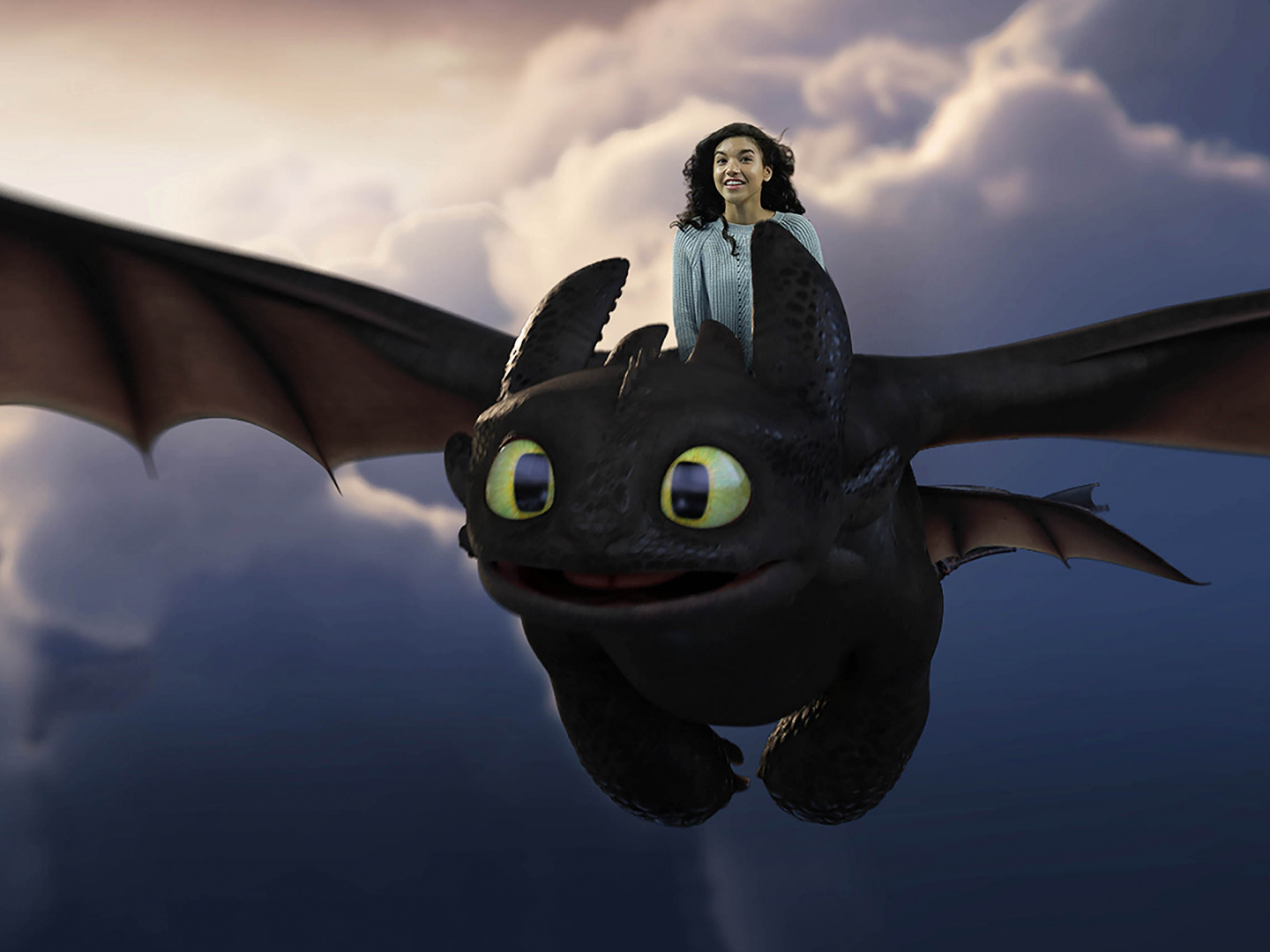 Fly With Toothless Thumbnail