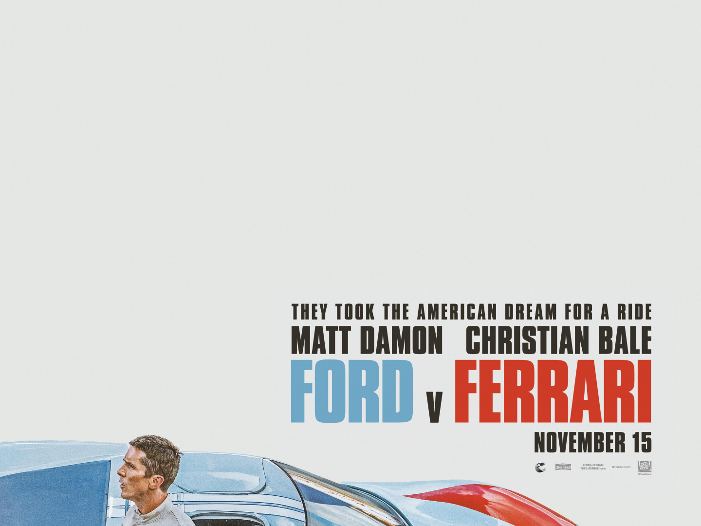 FORD V FERRARI Teaser One-Sheet Thumbnail