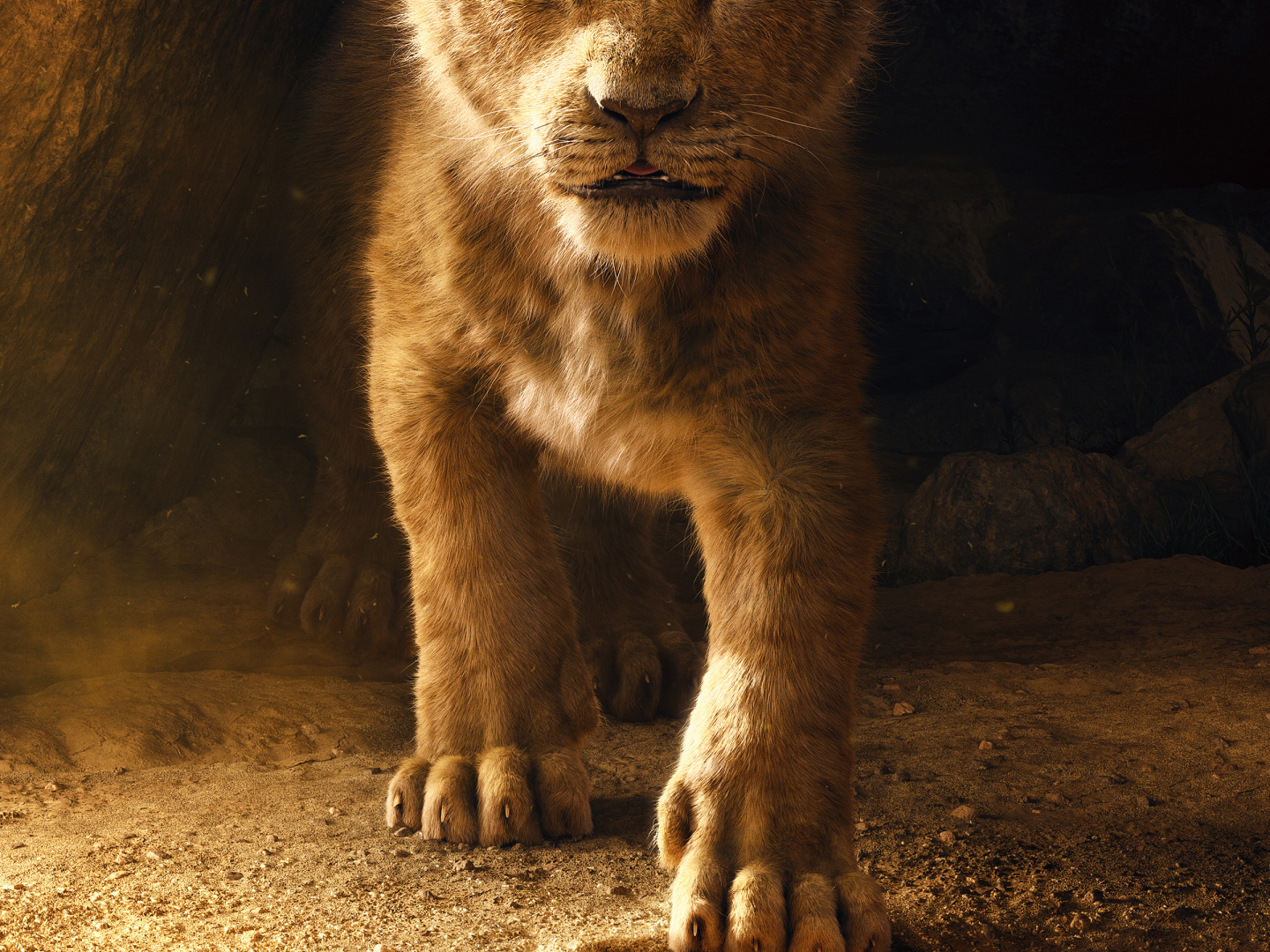 Lion King Teaser Key Art Thumbnail