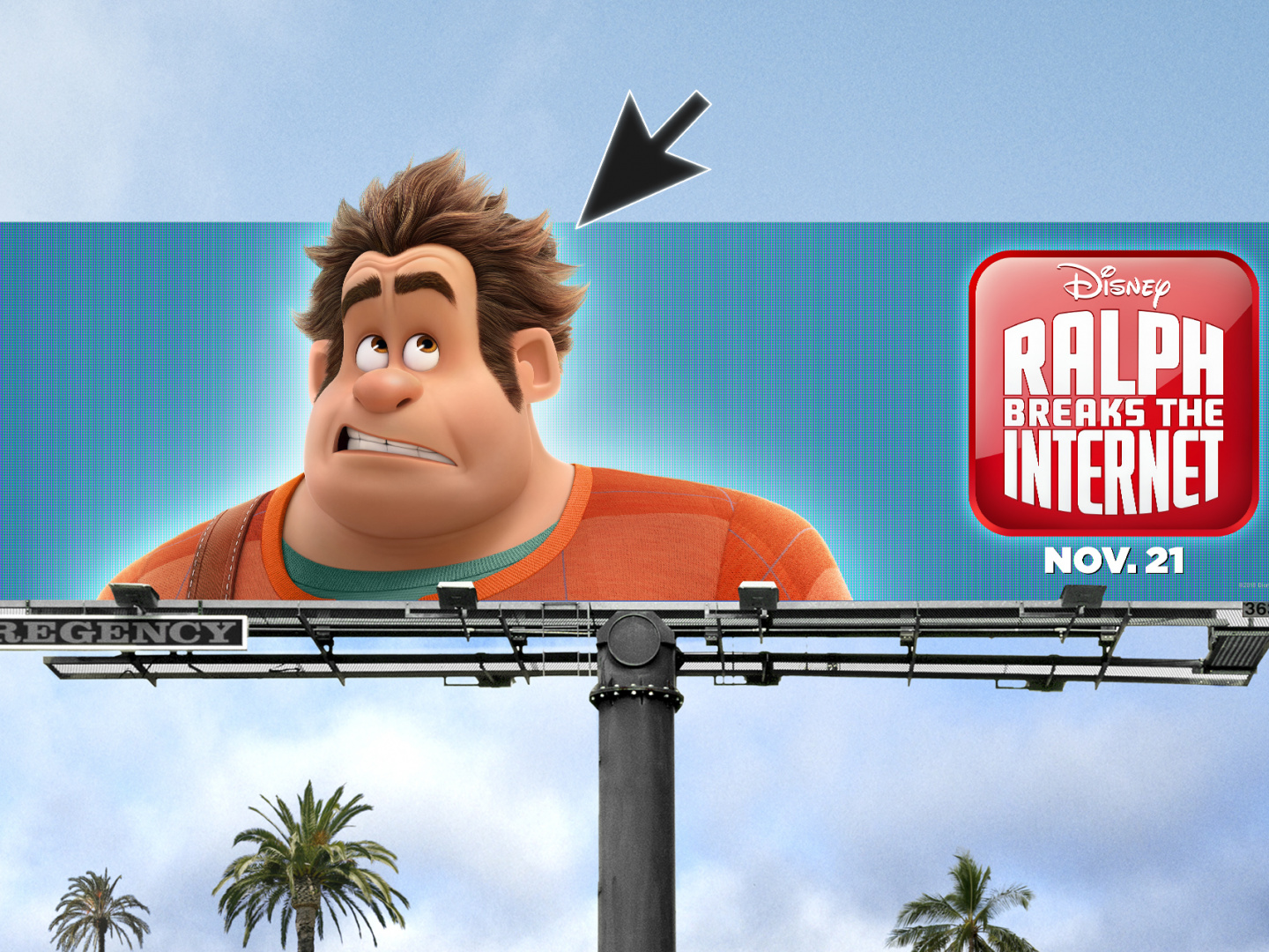 Image for Ralph Breaks the Internet Out of Home