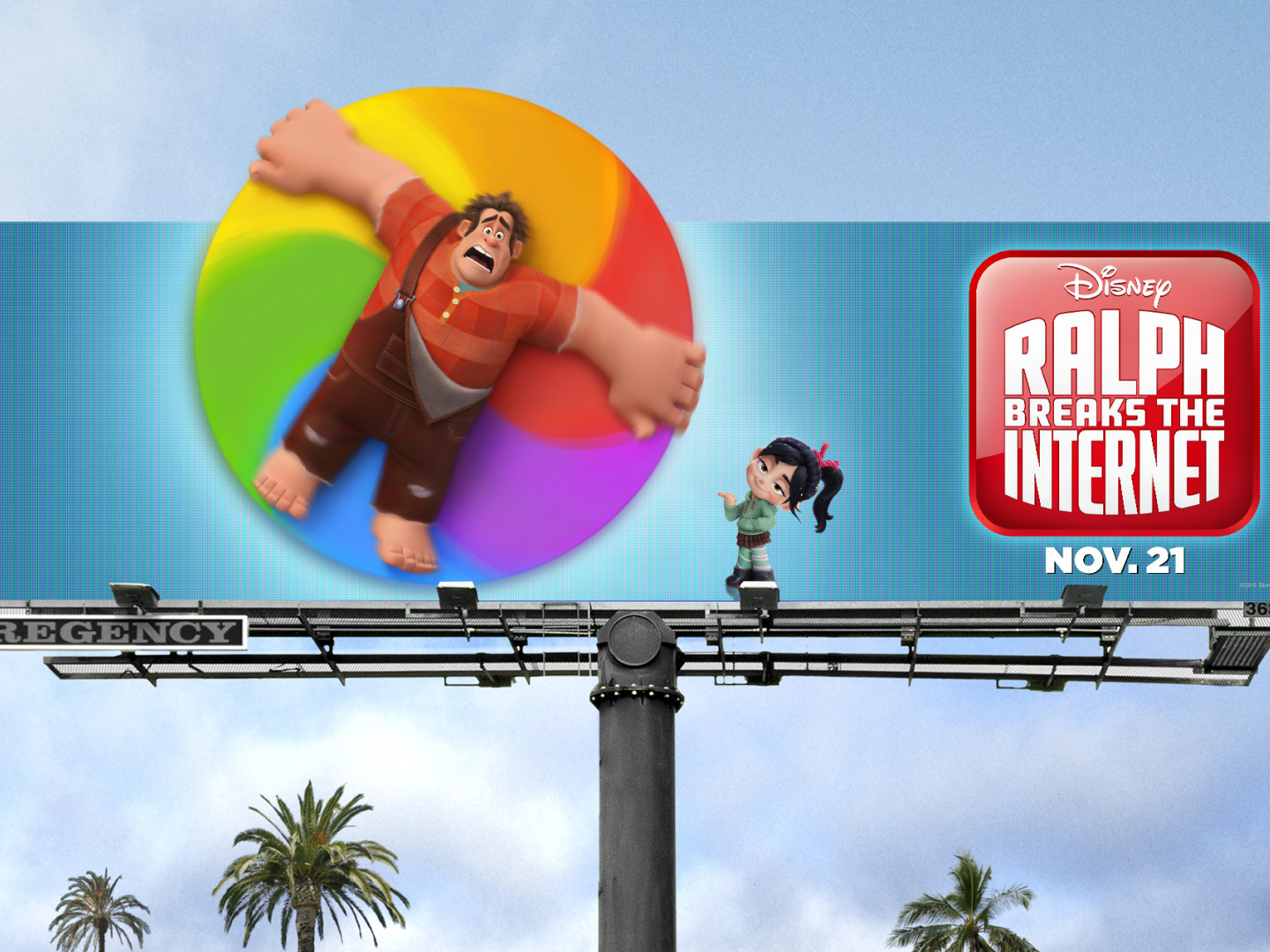 Ralph Breaks the Internet Out of Home  Thumbnail