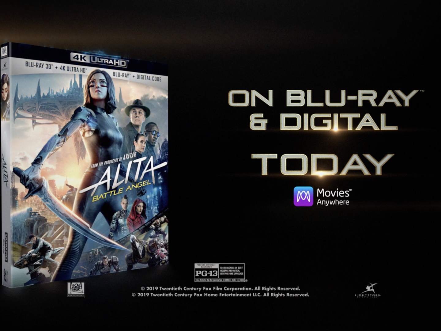 Alita: Battle Angel - Home Entertainment Campaign  Thumbnail