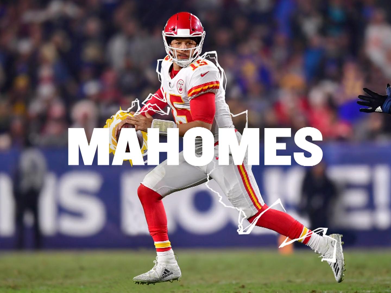 Image for Friends + Football = ESPN FANTASY (Mahomes)