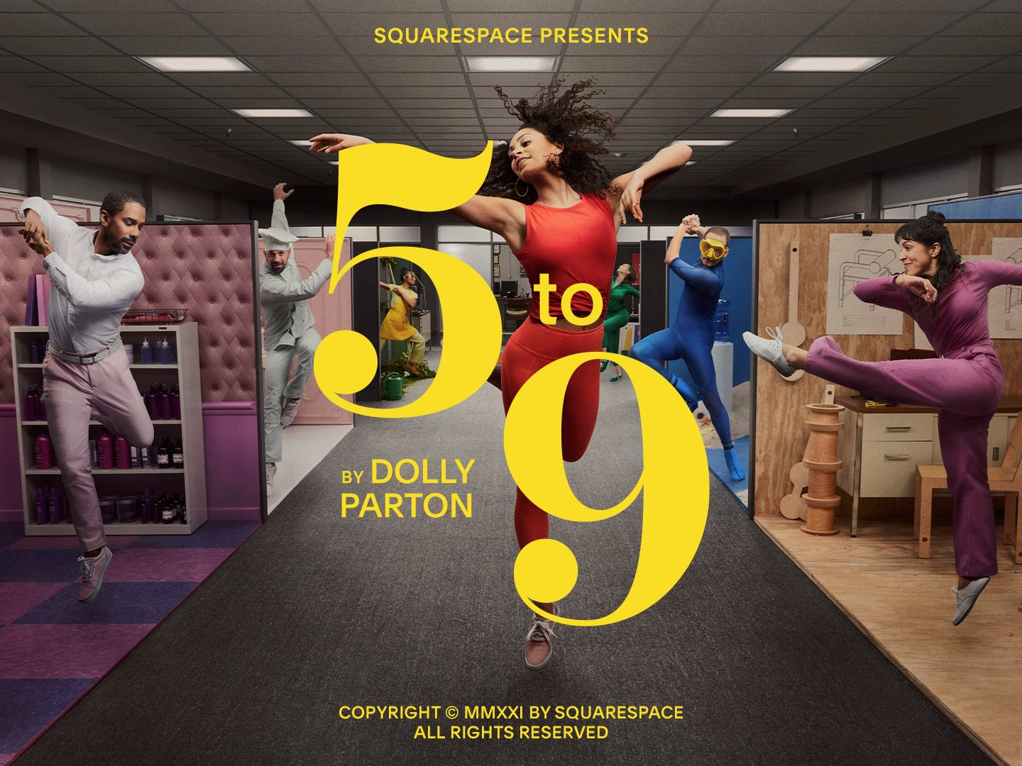 5 to 9 by Dolly Parton Thumbnail