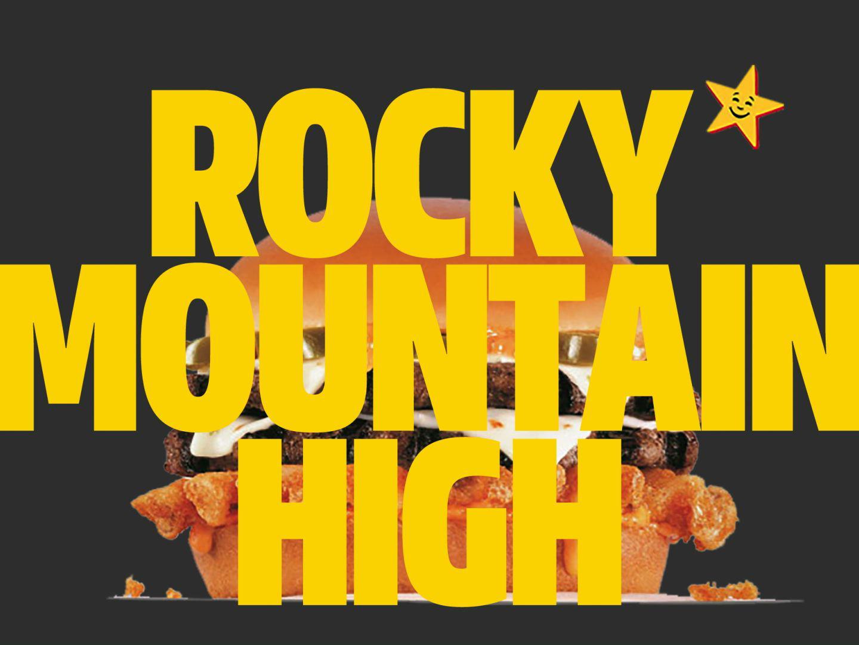 Carl's Jr.: Rocky Mountain High Cheeseburger Delight