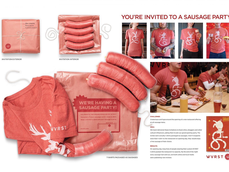 WVRST Sausage Party Invite Thumbnail