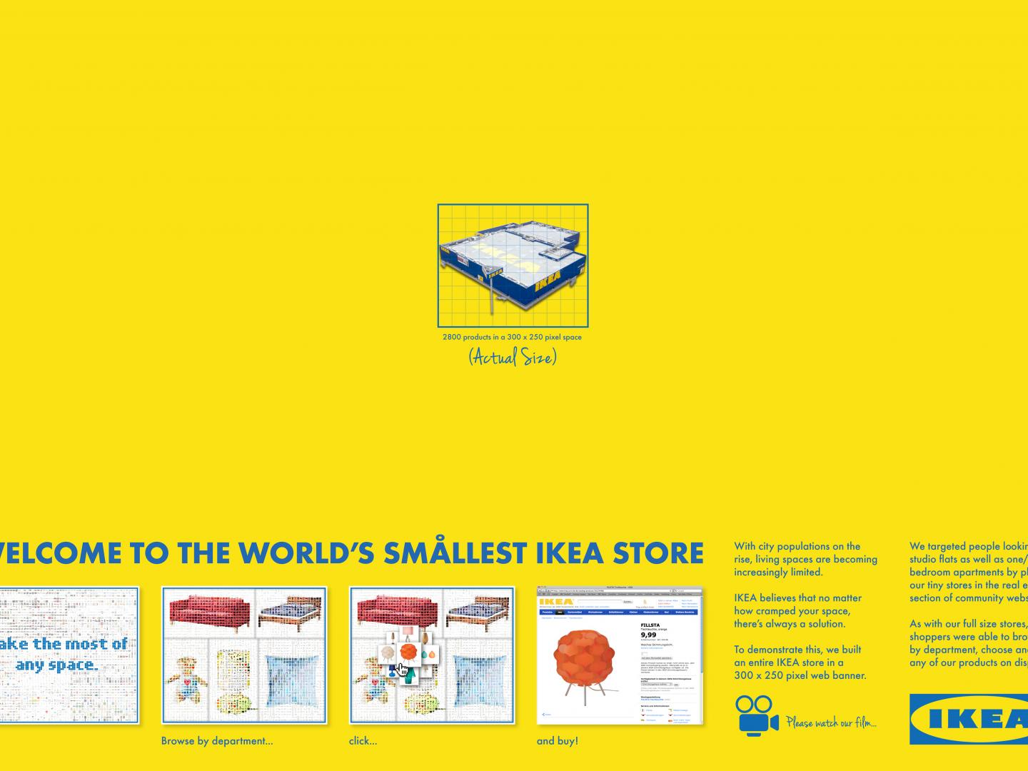 The smallest IKEA store in the world Thumbnail