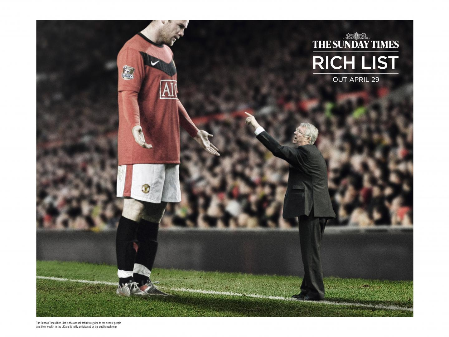 The Sunday Times Rich List- Sport Thumbnail