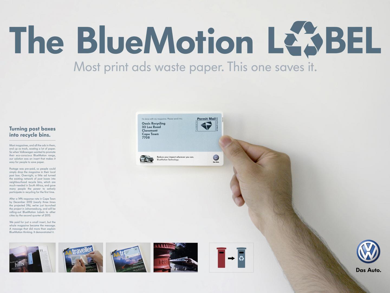 The BlueMotion Label Thumbnail