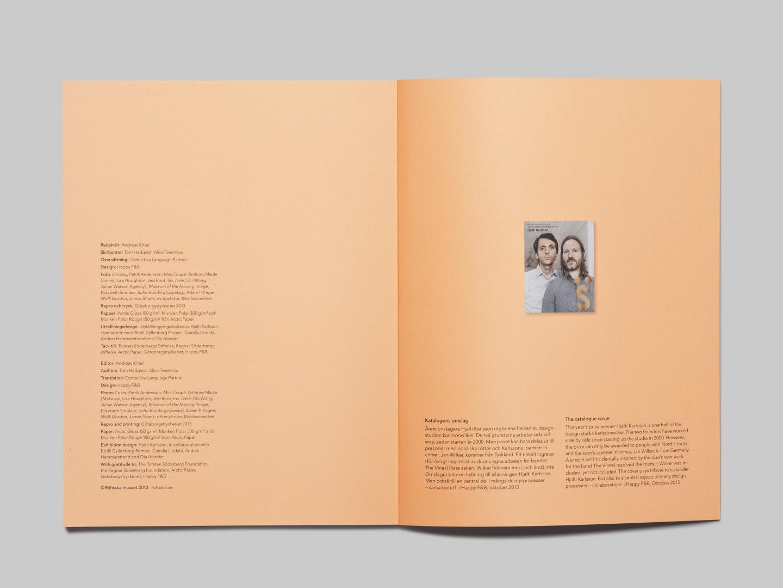 Torsten and Wanja Söderbergs Prize 2013; Hjalti Karlsson Thumbnail