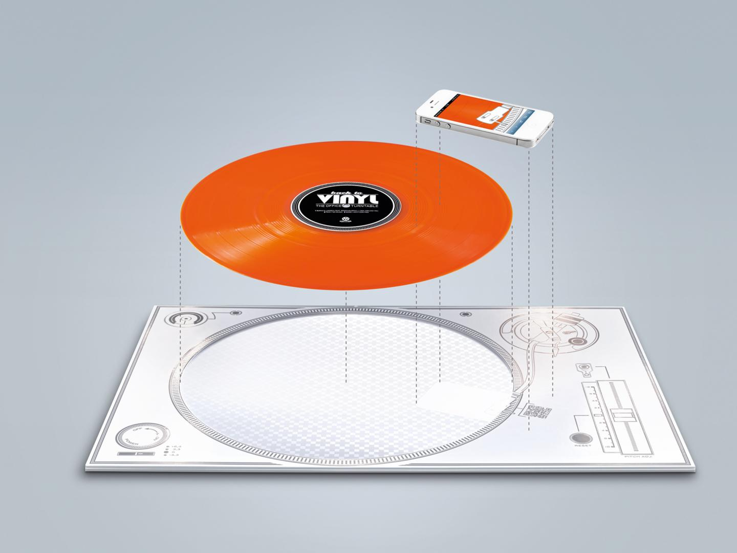 Back to Vinyl - The Office Turntable Thumbnail