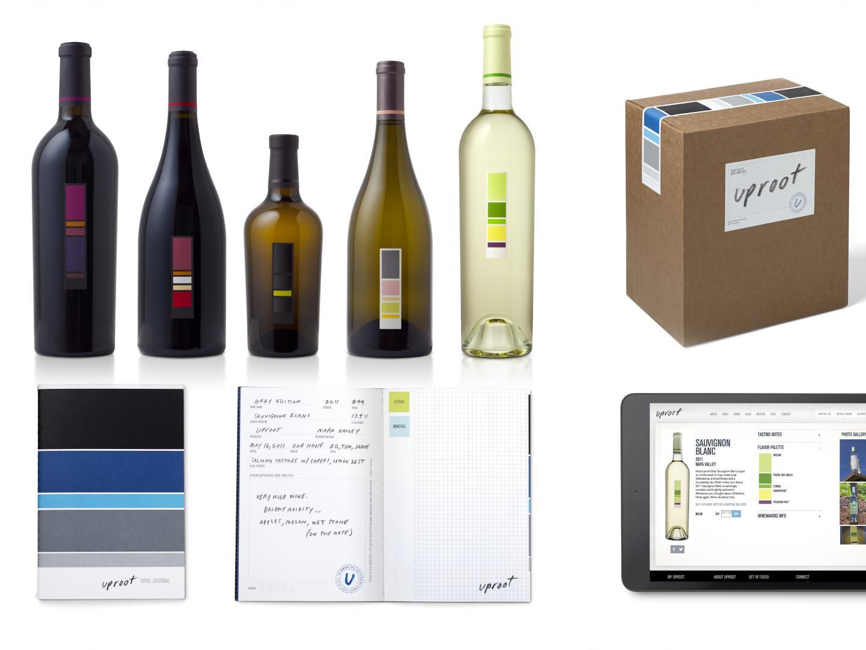 Uproot Wine Visual Identity + Packaging Thumbnail