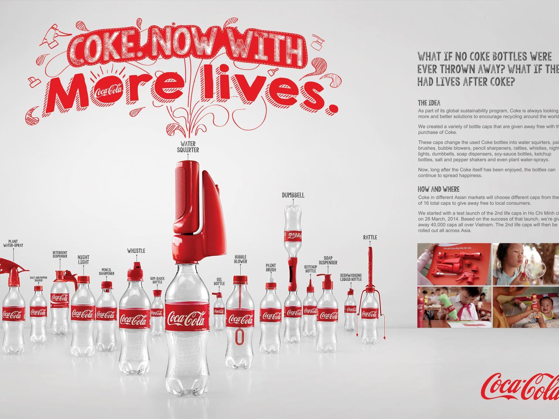 Coke 2nd Life Caps Thumbnail