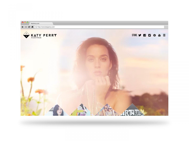 Katy Perry - katyperry.com Thumbnail