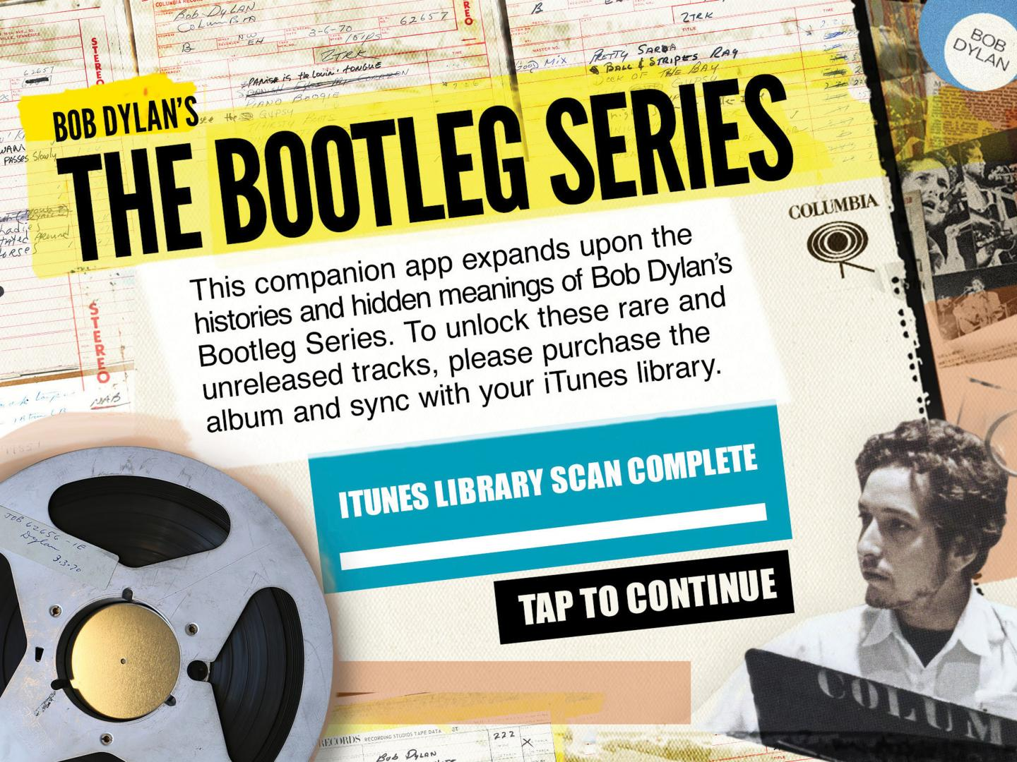 The Bootleg Series: Bob Dylan Companion App Thumbnail
