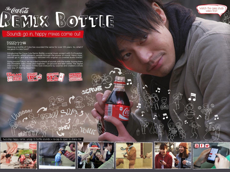 The Coca-Cola Remix Bottle Thumbnail
