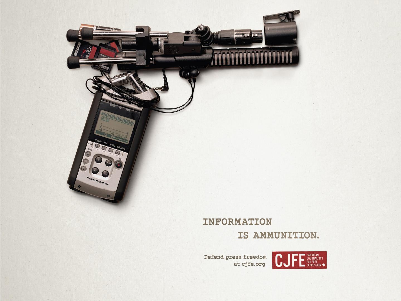 Information is Ammunition - Handgun Thumbnail