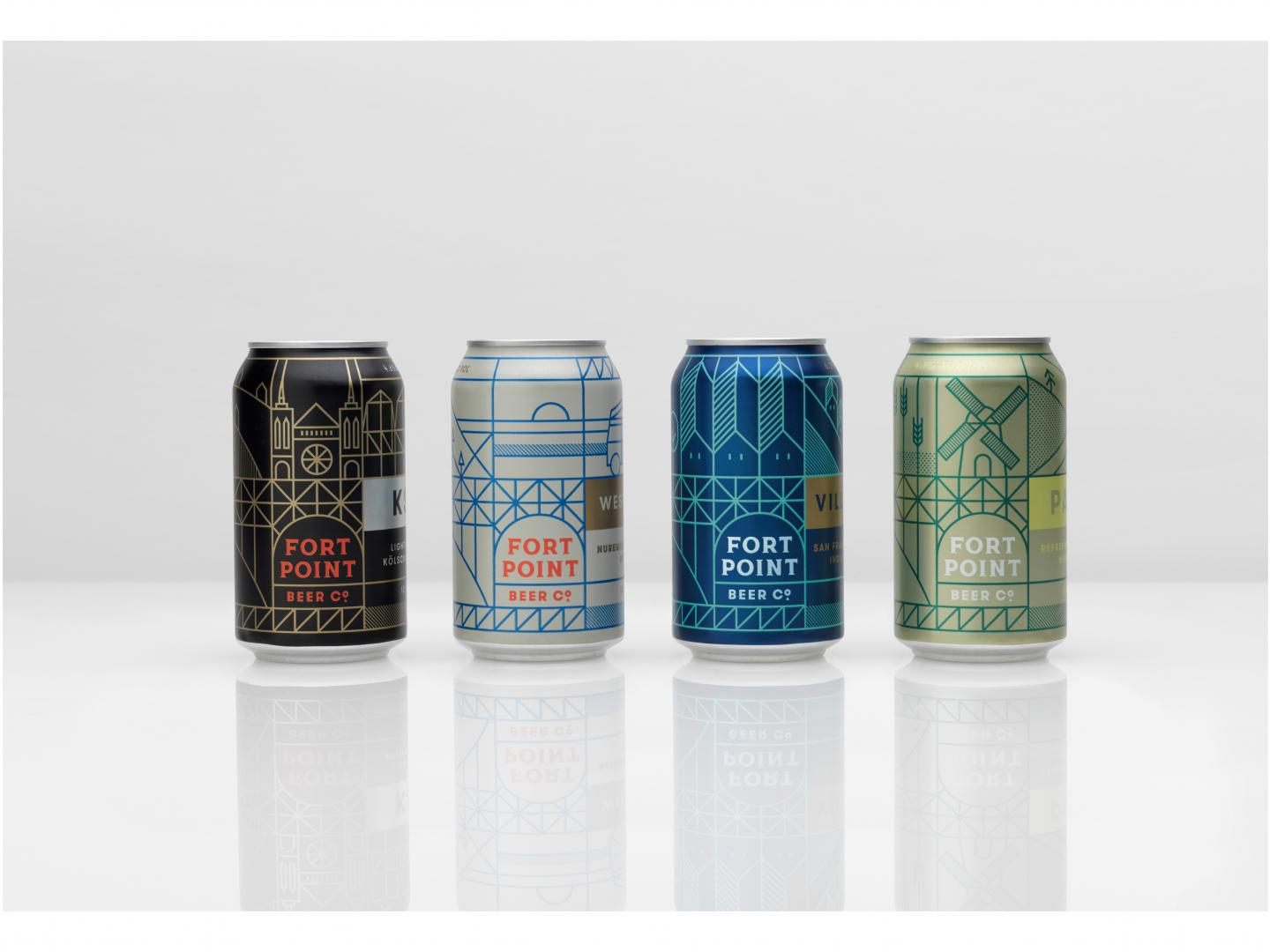 Fort Point Beer Company Packaging Thumbnail