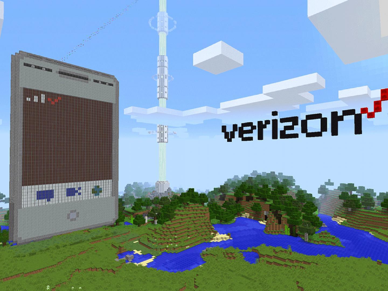 Verizon in Minecraft Thumbnail