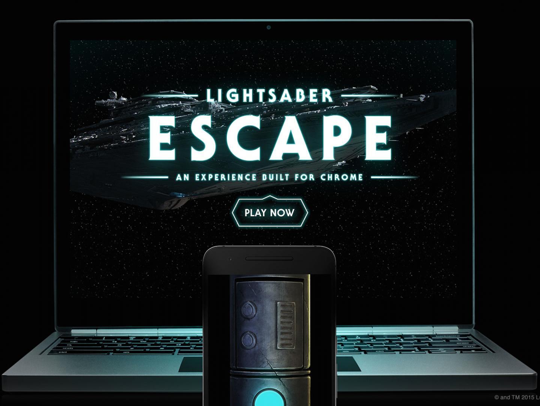 Lightsaber Escape: A Chrome Experiment Thumbnail