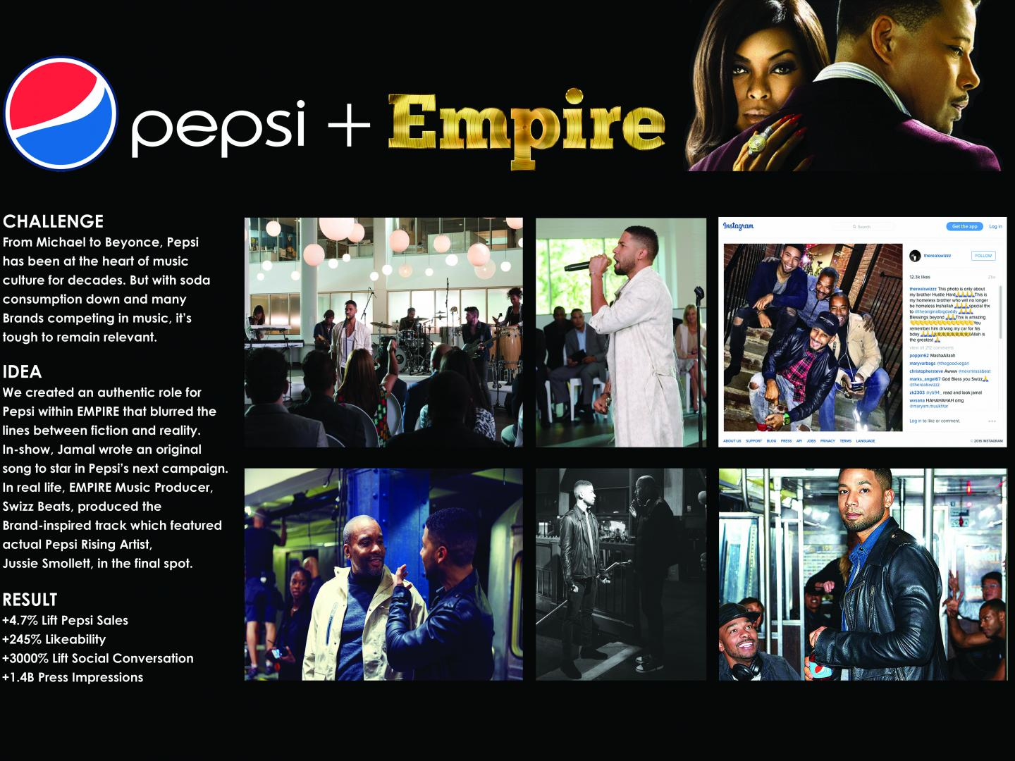 Pepsi + EMPIRE Partnership Thumbnail